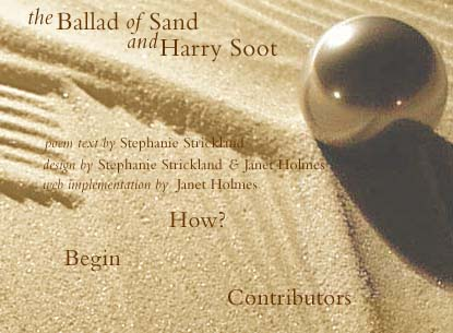 Image result for the ballad of sand and harry soot